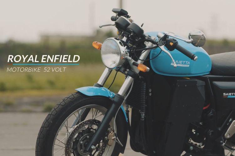Royal Enfield Continental GT bertenaga listrik