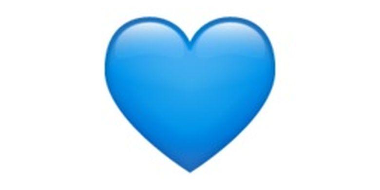 Emoji Blue Heart