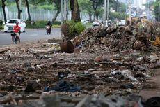 PKL Tanaman di Jalan Asia Afrika Ditertibkan