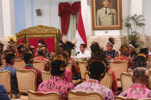 Soal Ketua Rombongan Tokoh Papua yang ke Istana, Eks Timses Jokowi dan Siap Sumbang Lahan
