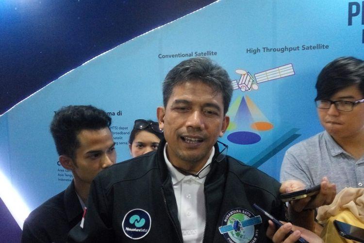 Direktur Jaringan PT PSN Heru Dwikantono saat di Jakarta, Jumat (22/2/2019).