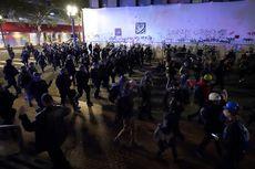 Kerusuhan Pilpres AS, Massa Anti-Trump Pecahkan Jendela Toko di Portland
