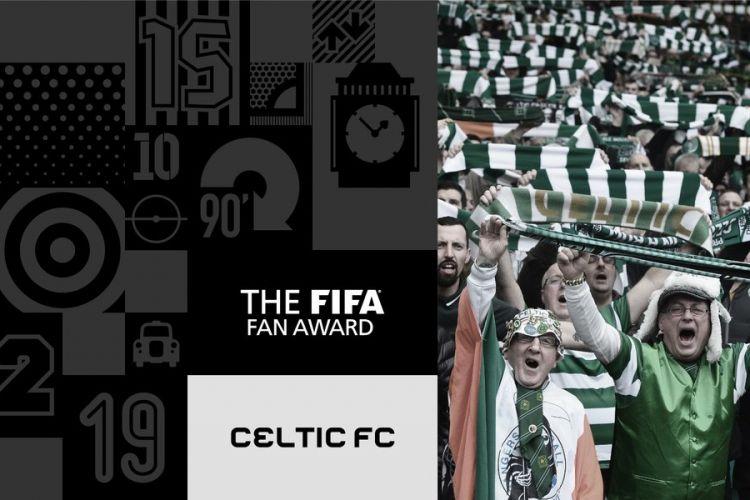 Penggemar Celtic FC meraih penghargaan Suporter Terbaik FIFA 2017.