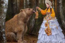 Beruang Ini Jadi Model