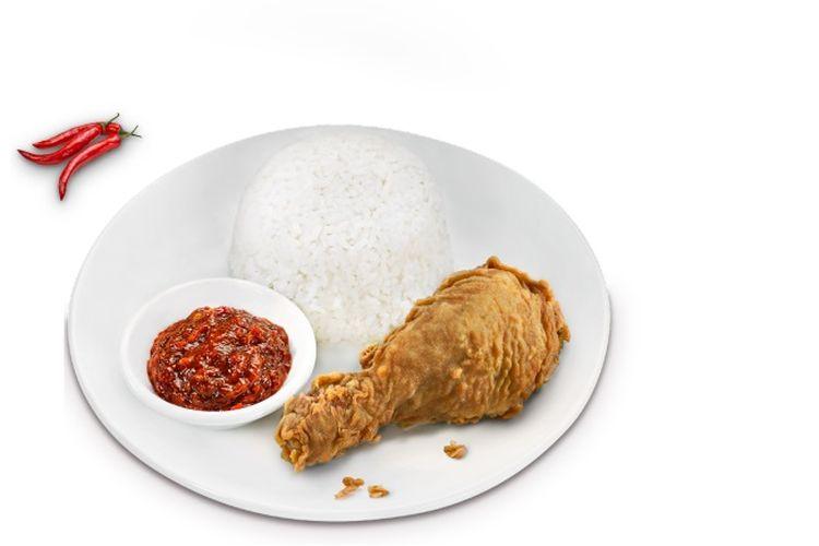 Krispi Kalasan. Salah satu menu baru dari seri menu Ayam Goreng Selera Nusantara CFC.