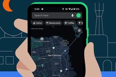 Google Maps di iPhone Dapat Fitur Mode Gelap