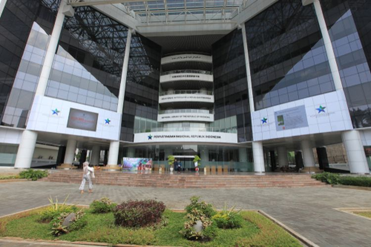 Perpustakaan Nasional memiliki 24 lantai dan fasilitas modern, (13/5/2019).