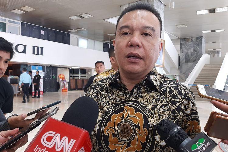 Wakil Ketua DPR Sufmi Dasco Ahmad Dasco di gedung DPR, Senayan, Jakarta, Rabu (15/1/2020).