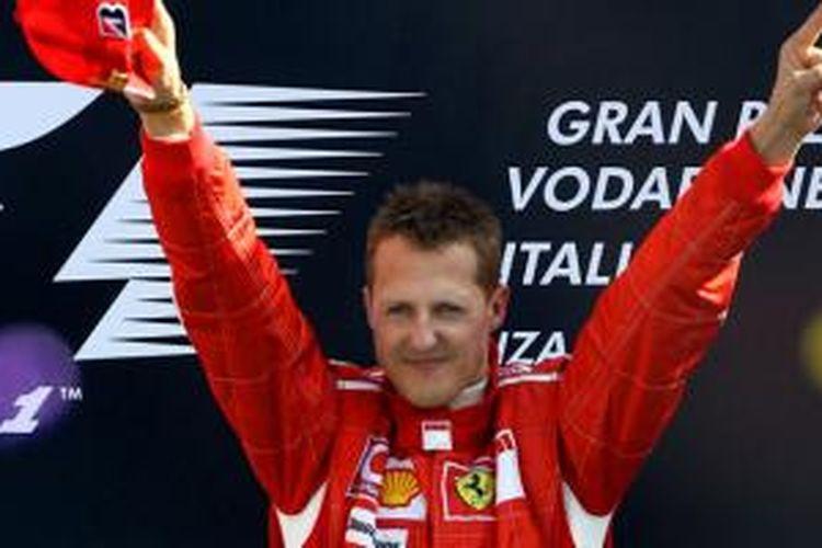 Gaya Schumacher saya berjaya dengan Ferrari