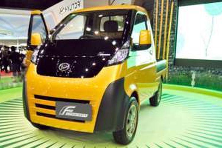 Konsep mobil pedesaan sudah pernah dipamerkan Daihatsu di IIMS 2010, bernama F-Concept.