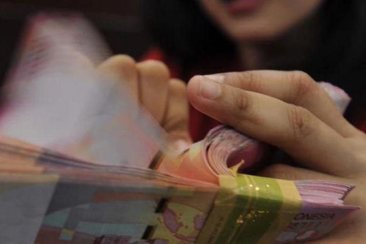 Ilustrasi uang kertas