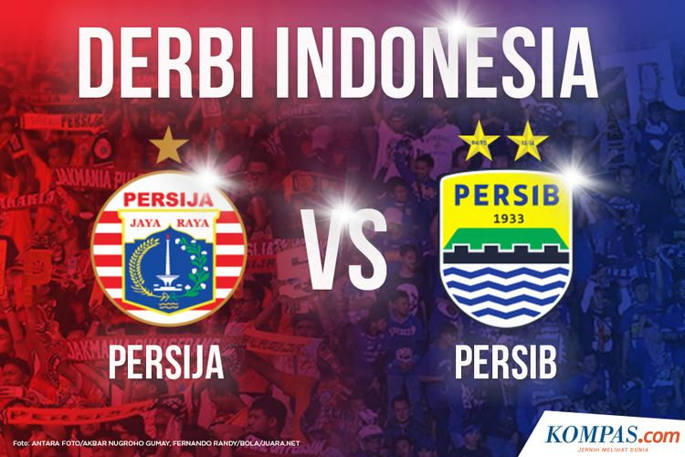 Ilustrasi Derbi Indonesia: Persija vs Persib