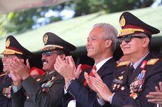 Ini Pesan Ganjar Pranowo di Peringati HUT TNI ke-74