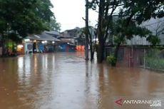 Banjir Akibat Hujan Lebat, Jalan Raya Jambore Cibubur Ditutup Sementara