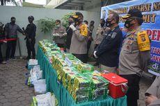 Seorang Polisi di Medan Dibacok Saat Pengungkapan 100 Kilogram Sabu