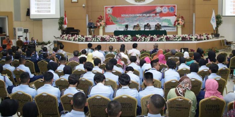 Para peserta sosialiasi yang terdiri dari lebih dari 500 pimpinan dan anggota DPD IPKANI serta masyarakat umum (Dok. MPR RI)