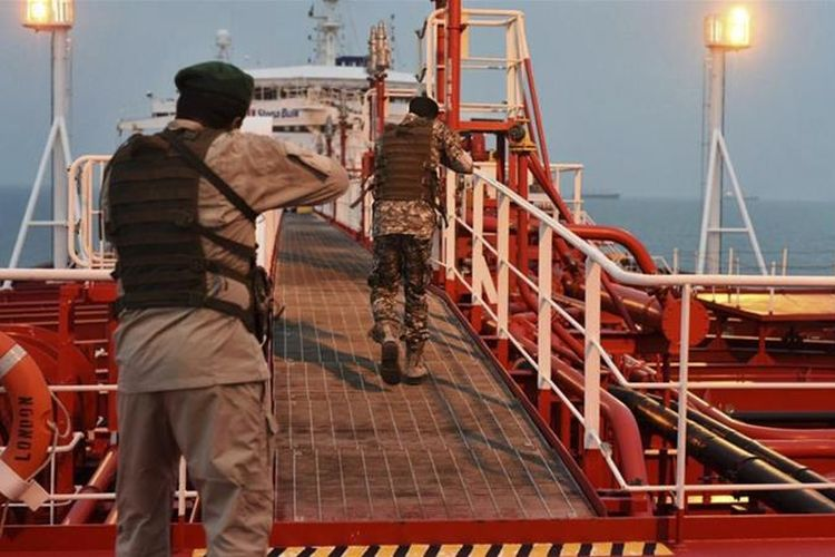 Kapal UEA disita setelah memasuki perairan Iran, kata kementerian luar negeri.