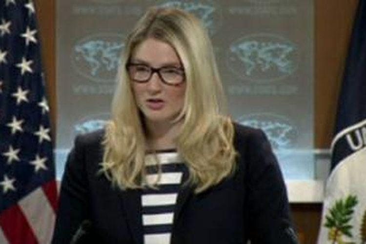 Juru Bicara Kemenlu AS, Marie Harf mengatakan selain ancaman kedubes negara itu kerap jadi sasaran unjuk rasa.