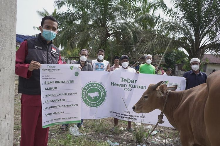 Berkah kolaborasi masyarakat Indonesia, Dompet Dhuafa berhasil raih peningkatan atau pertumbuhan penghimpunan Tebar Hewan Kurban hingga 60 persen, dan menyasar lebih dari 2 juta Penerima Manfaat.