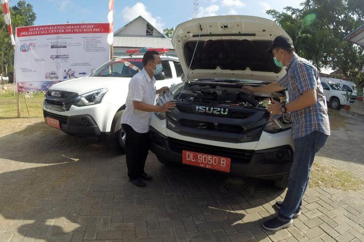 Industri Otomotif Garap Peluang di Sektor Kesehatan, 11 Unit Ambulans Isuzu MU-X Mulai Layani Sulut