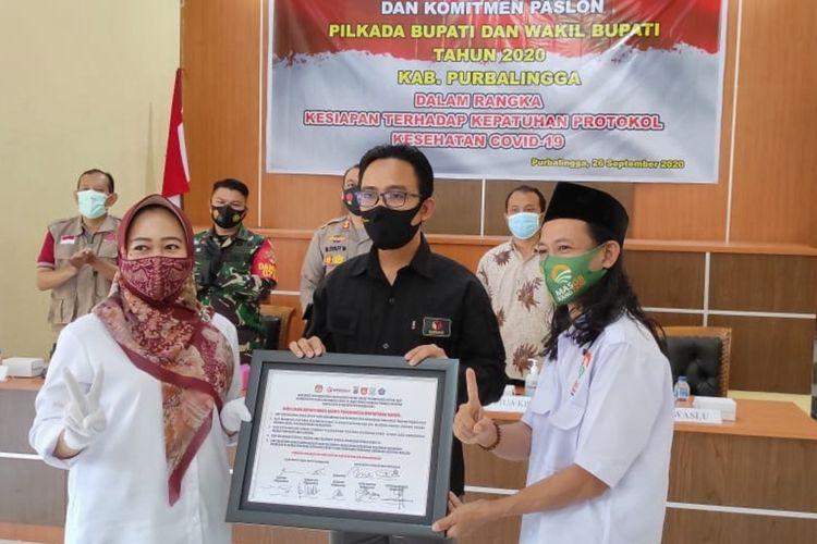 Klaster Pilkada Purbalingga Meluas, dari Paslon, Tim Sukses, hingga Petugas KPU Positif Covid-19