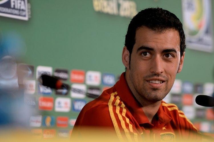 Gelandang Spanyol, Sergio Busquets.