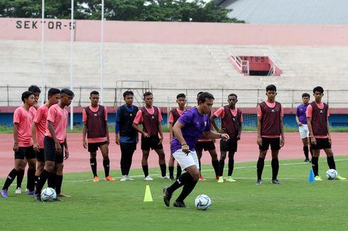 Menu Latihan pada Hari Pertama TC Timnas U16 Indonesia
