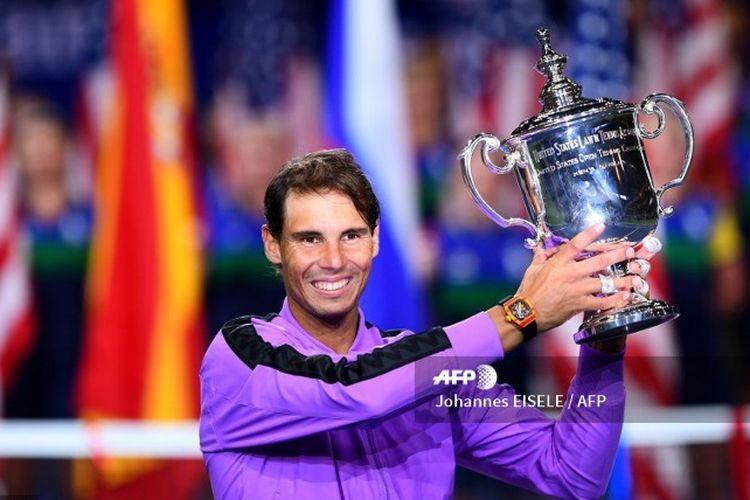 Rafael Nadal keluar sebagai juara US Open 2019 tunggal putra setelah mengalahkan Daniil Medvedev lewat drama lima set.