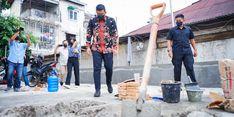Pengusaha Langgar Aturan, Walkot Bobby Robohkan Bangunan di Atas Drainase