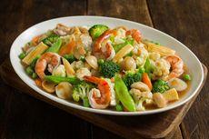 Resep Capcay Seafood dari Sisa Udang, Cumi, dan Bakso Pesta Tahun Baru