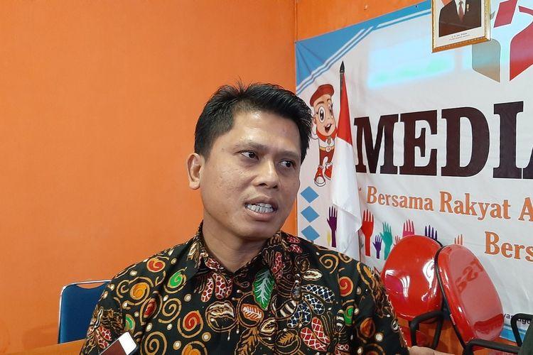 Ketua Bawaslu Gunungkidul Is Sumarsono di Kantor Bawaslu Gunungkidul Kamis (23/1/2020)