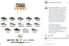 Bantu Tenaga Medis, Nevertoolavish Lelang Sepatu Karya 14 Seniman Top