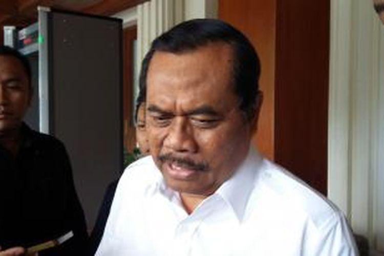 Jaksa Agung M Prasetyo di Kantor Menko Polhukam, Jakarta Pusat, Rabu (23/12/2015).