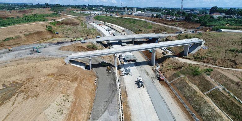 Tol Bogor-Ciawi-Sukabumi (Bocimi), Minggu (8/4/2018).