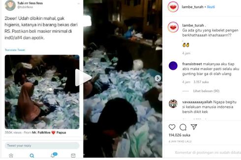 Viral Video Packing Masker Diinjak-injak dan Tak Steril, Ini Bantahan Solida