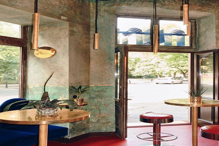 Aura Bar di Warsawa, Polandia gunakan unsur Maroko.