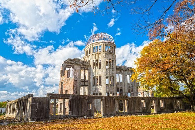 Ilustrasi Jepang - Hiroshima Peace Memorial.