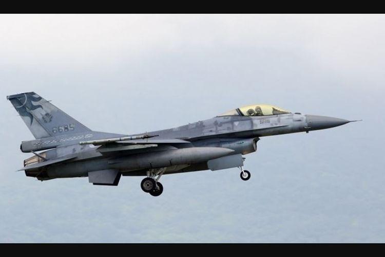 Pesawat jet tempur tipe F-16 milik Angkatan Udara Taiwan dilaporkan hilang saat menjalani latihan militer bersama.