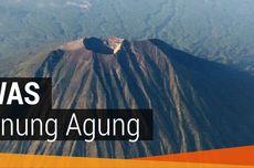 9 Tanda Tekanan Magma ke Puncak Gunung Agung Kian Nyata dan Kuat