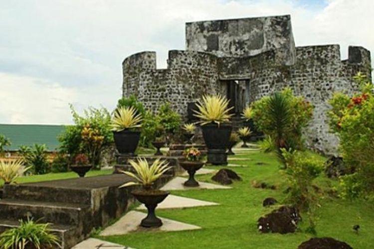 Benteng Tolukko di Ternate, Maluku Utara.