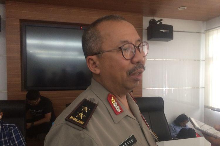 Kadiv Humas Polri Irjen (Pol) Setyo Wasisto Saat Ditemui di Gedung Humas Mabes Polri, Jakarta Selatan, Rabu (19/9/2018).