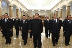 Kim Jong Un Peringati Hari Kematian Kakeknya, Kim Il Sung