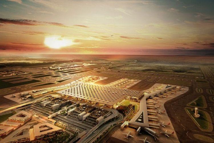 Bandar udara baru di Istanbul