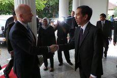Menlu Inggris Bertamu ke Kantor Jokowi