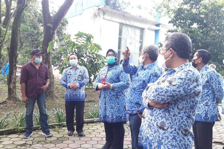 Bupati Sragen, Kusdinar Untung Yuni Sukowati di Technopark Sragen, Jawa Tengah, Kamis (17/6/2021).