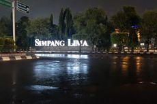 Sempat Banjir, Genangan Air di Simpang Lima Semarang Sudah Surut