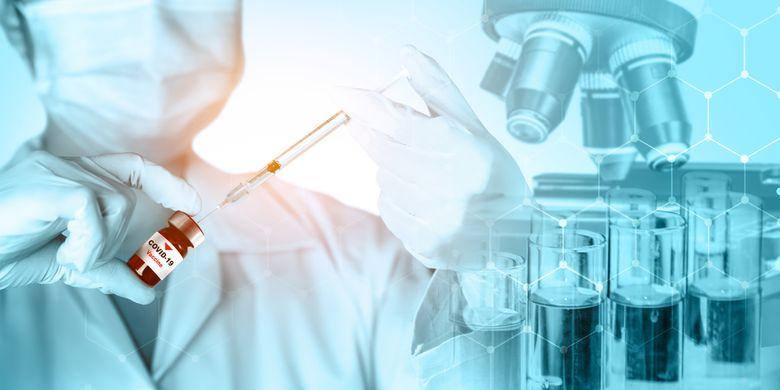 Ilustrasi vaksin Pfizer 90 persen efektif berdasarkan pengamatan dari sekitar 43.000 relawan di Amerika Serikat (AS), hanya 94 orang yang terkonfirmasi Covid-19, sejak pemberian dosis kedua vaksin Covid-19 atau plasebo.