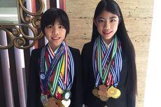 Ini Cara Winnie Aoki Dukung Devon dan Mischka Raih 12 Medali Olimpiade Matematika Internasional