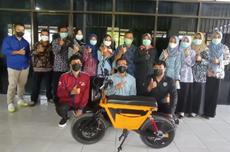 SMK di Bantul Ciptakan Motor Listrik dari Bahan Daur Ulang Sepeda