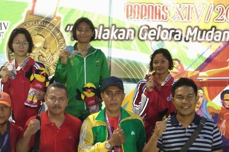 Tiga atlet SEA Games XXIX/2017 turun di Popnas 2017: Felicia Angelica (DKI), Azzahra Permatahani (riau) dan Sophie Kemala (DKI)